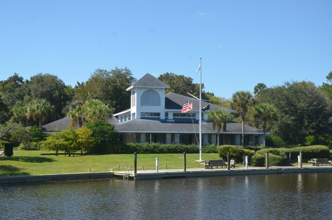 The Palm Coast Yacht Club is looking for a bailout. The city is studying whether to provide it. (© FlaglerLive)