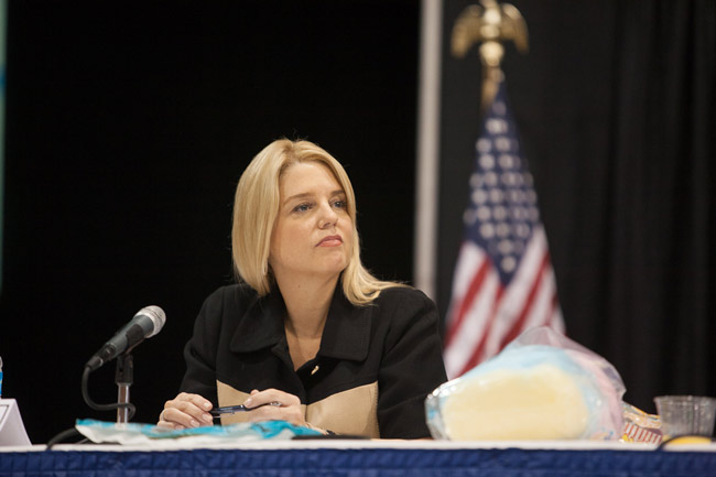 Attorney General Pam Bondi says she's not scared to take on Big Pharma.