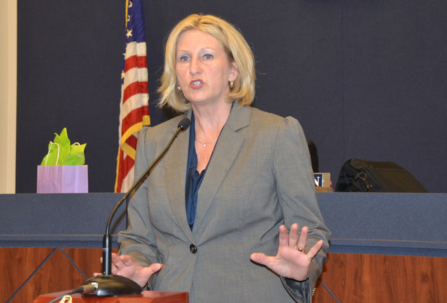 Florida Education Commissioner only appears to be putting the brakes on Common Core, but the effort is largely a rebranding designed to appease conservative critics. (© FlaglerLive)