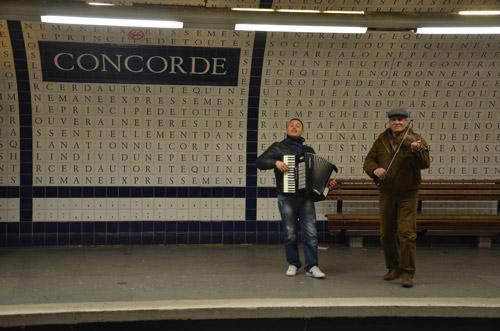 paris place de la concorde metro