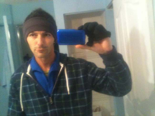 Patrick Neal Amaral, in a self-portrait on his Facebook page.