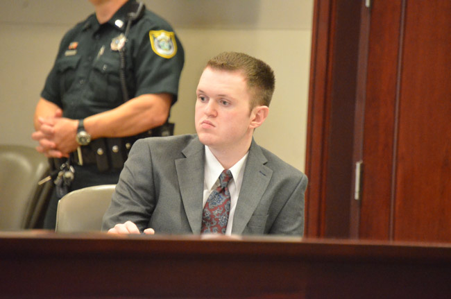 Paul Dykes, 21, faces life in prison without possibility of parole. (© FlaglerLive)