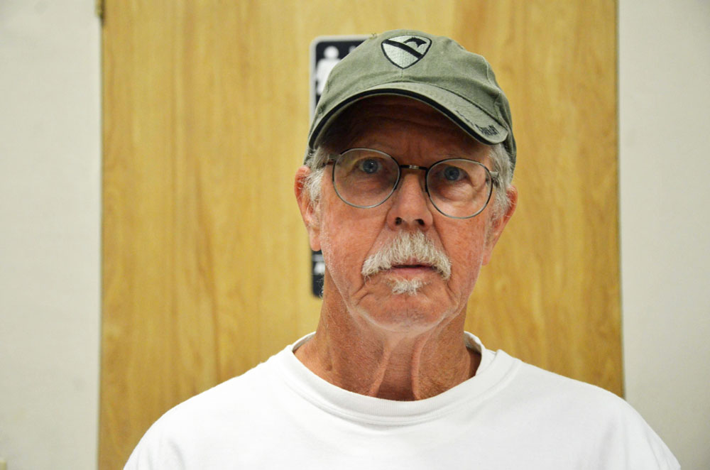 Paul Harrington is in his third run for a seat on the Flagler Beach City Commission. (© FlaglerLive)