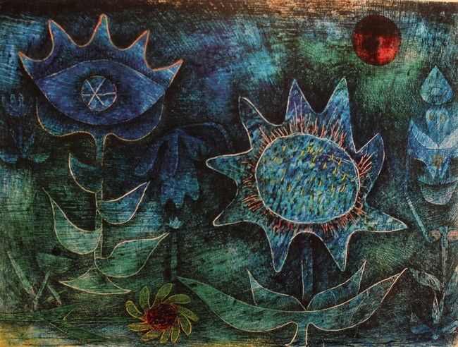 paul klee flowers in the night