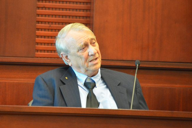 At his trial in 2013, Paul Miller was his own worst witness. (© FlaglerLive)