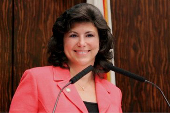 Paula Dockery will not be supporting Gov. Rick Scott's re-election.