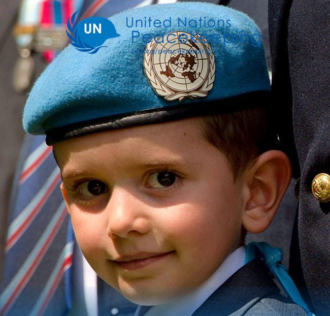 Today is International Day of United Nations Peacekeepers. (UN)