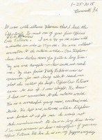 Ann Parker's commendation letter. Click on the image for larger view.