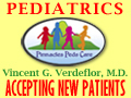Vincent G. Verdeflor palm coast pediatrics pediatrician medicaid accepted