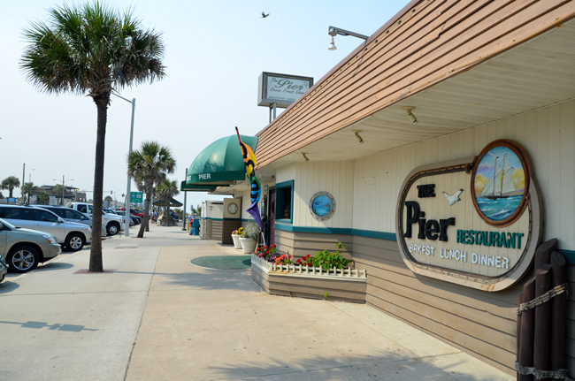 Flagler Beach S Pier Restaurant
