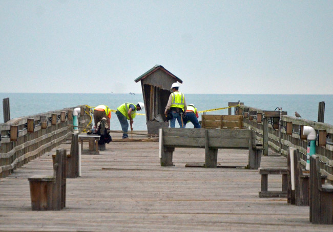 flagler beach pier construction