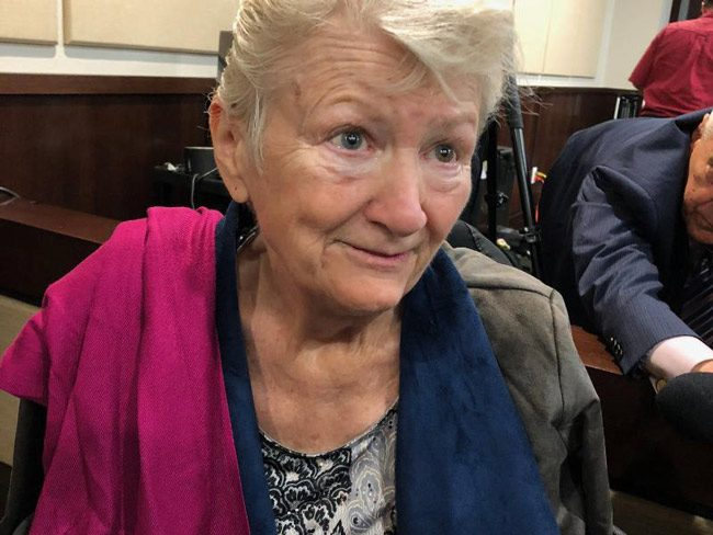 Cathy Jordan, a patient who was diagnosed with Lou Gehrig's disease more than three decades ago, told the judge she credits smoking joints with saving her life.