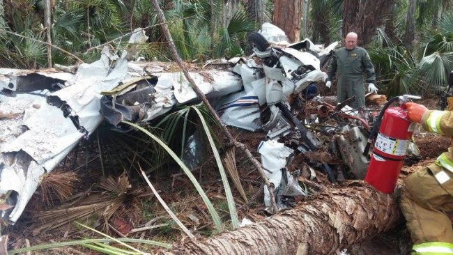 plane crash plantation bay