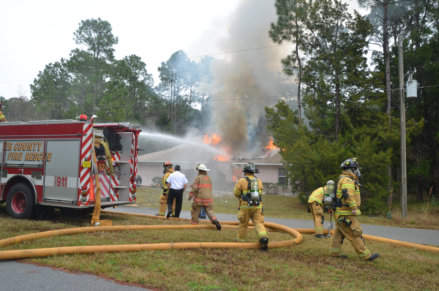 3 People Are Dead As Small Plane Crashes Into Palm Coast