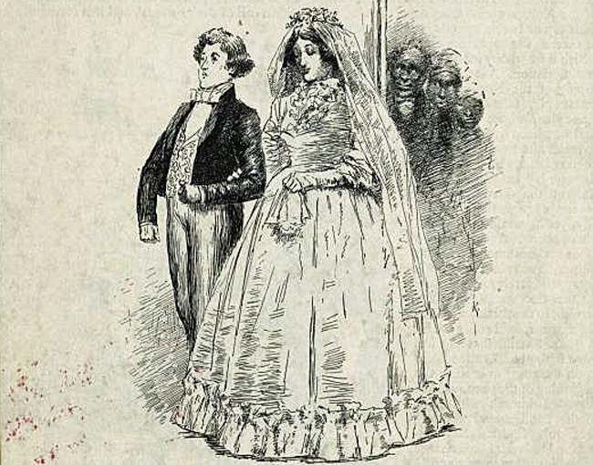 Bubba's kind of wedding: from the March 1892 issue of Century Magazine. (New York Public Library Collection)