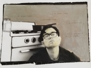 A self-portrait, seemingly inspired by Sylvia Plath, McCarthy submitted when he was at the San Francisco Art Institute, studying photography.