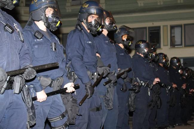 police brutality protest violence