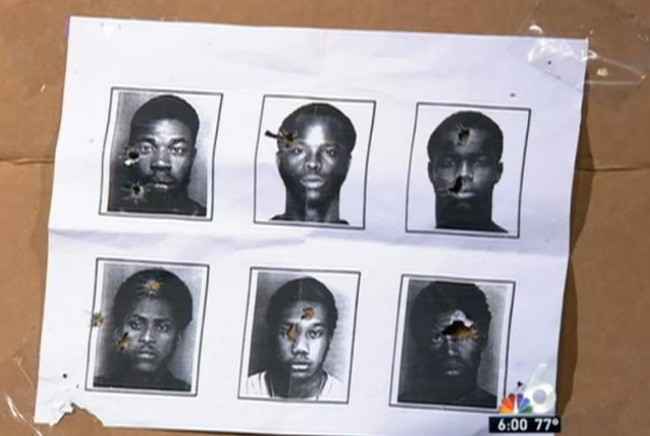 North Miami Beach Police Chief Police Chief Scott Dennis defended the use of the mugshots.