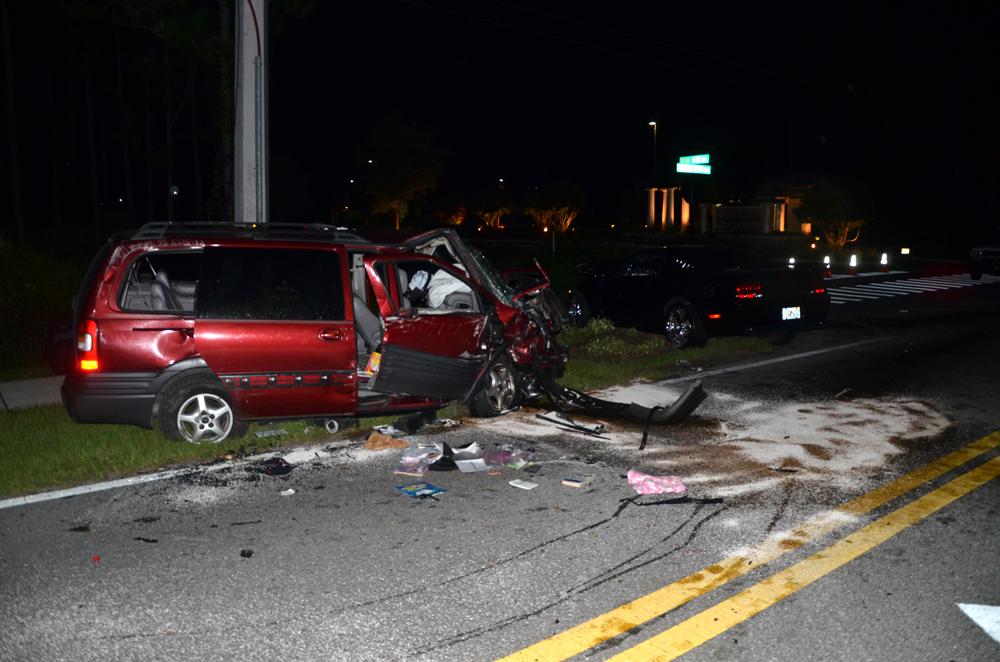 Severe 2 Vehicle Accident Shuts Down Seminole Woods Blvd