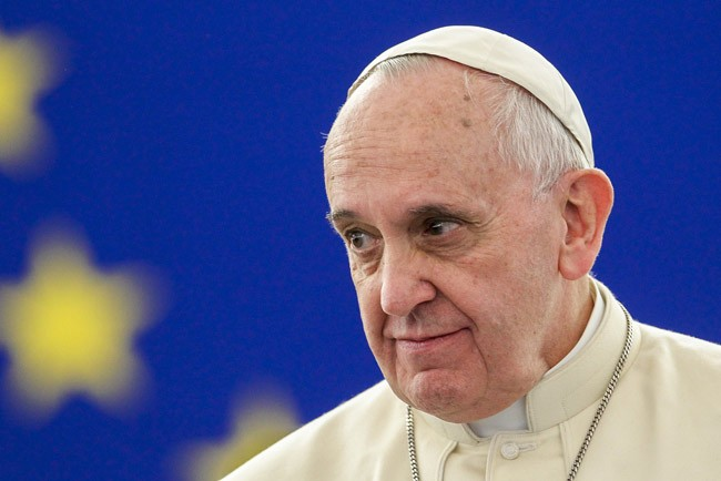 pope francis climate