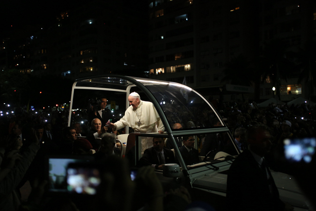 The coolest pope. (Boston Catholic)