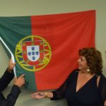 Caesar DePaço, right, during the ceremonial opening of the honorary consulate in Palm Coast in 2015, with José Cesário, Portugal's secretary of state of Portuguese Communities Abroad, left. (© FlaglerLive)