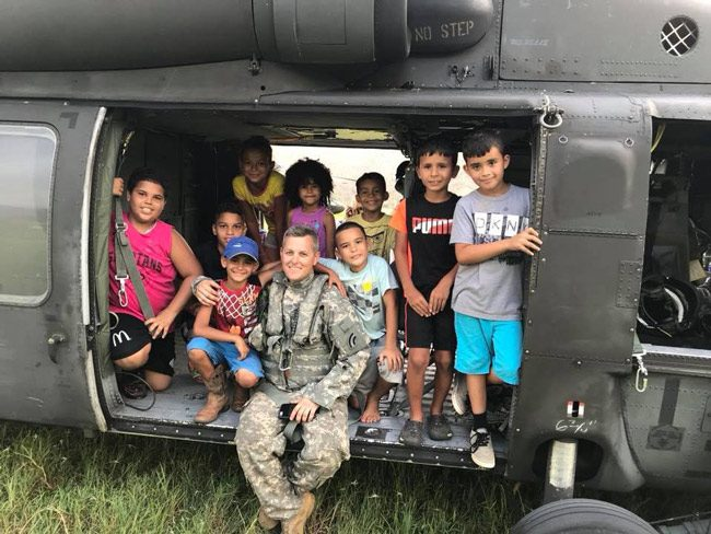 Ready to get back to school. (New York National Guard)