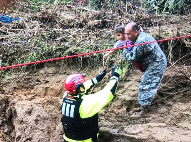 Many Puerto Ricans are giving up on their devastated island, at least for now. Many are coming to Florida. (Puerto Rico National Guard)