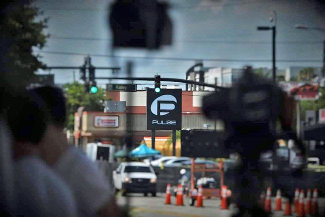 The Pulse nightclub days after the massacre. (© Scott Spradley for FlaglerLive)