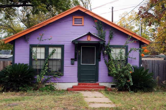 """'I think the big issue is,' Palm Coast Mayor Jon Netts said, reflecting a question many a newcomer to Palm Coast has asked, 'I have a purple house in New Jersey, why can't I have a purple house here."""" Because Palm Coast regulates houses' color schemes just as it regulates architecture, but may become a bit more lenient on the color matter."""
