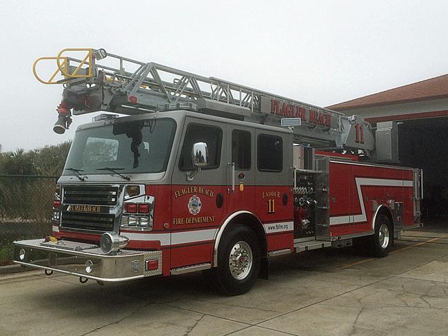 flagler beach fire truck quint