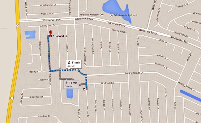 The shootings took place at two addresses in the western end of the R-Section. click on the map for larger view.