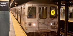 r train new york