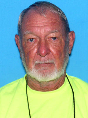 Raymond Miller of Palm Coast, missing since Friday.