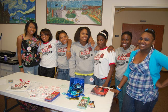 girls of Red Butterfly Project
