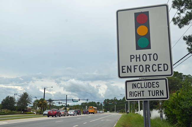 red-light cameras florida palm coast
