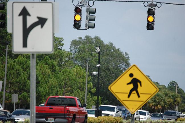 Crashes At Red Light Camera Intersections Up 10%, Incapacitating Injuries  Up 27% | FlaglerLive | FlaglerLive