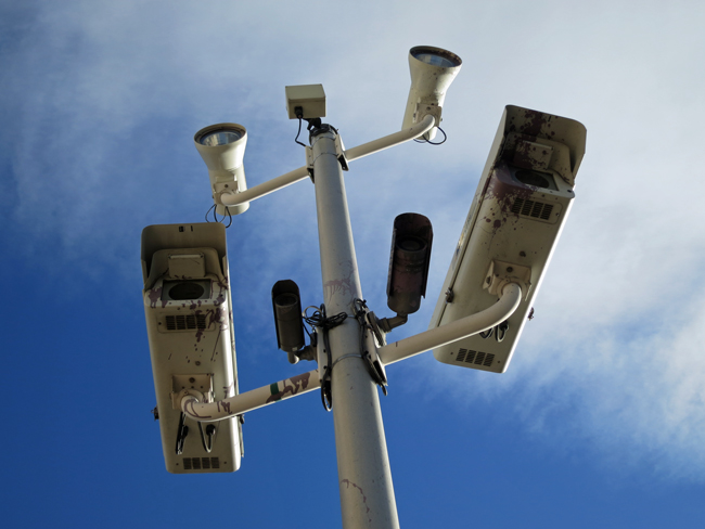 All lenses on the Florida Supreme Court, which hears the red-light camera case on Oct. 8. (Paul Sableman)