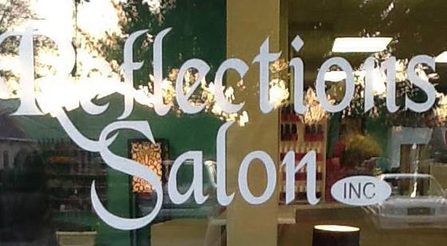 Palm Coast's Reflections Salon is at 25 Pine Cone Dr, Ste 3.