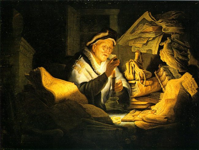 Rembrandt's 'Parable of the Rich Fool,' 1627. wealth inequality ceo pay