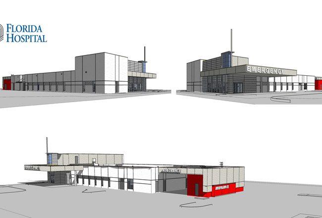 What the ER near Matanzas High School will look like. (Florida Hospital)