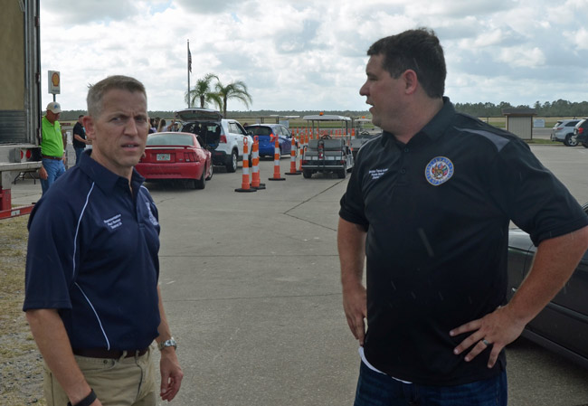 Rep. Paul Renner, left, and Sen. Travis Hutson, want an audit of East Flagler Mosquito Control District that the district itself is so far not wanting to conduct. (© FlaglerLive)