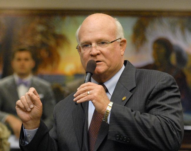 How small a mind can be: Rep. Dennis Baxley, a Republican, represents the Ocala region in the Florida Legislature. (Meredith Geddings)