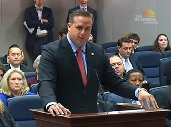 Rep. Frank Artiles, a Miami Republican, is the sponsor of the bill forbidding protections for transgender users of public bathrooms.