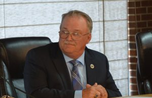 Flagler Beach Commission Chairman Rick Belhumeur. (© FlaglerLive)