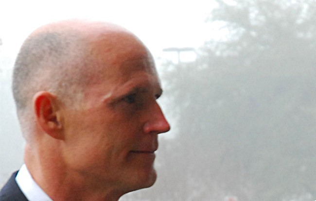 Rick Scott gives up on drug-testing.
