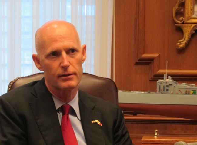 gov rick scott injunction lawsuit lip