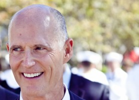 Rick Scott. (Rob Bixby)