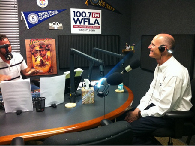 gov. rick scott radio health information exchange