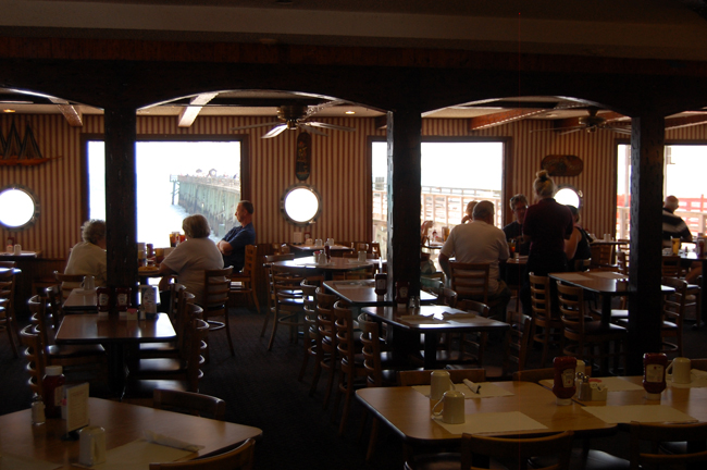 Katalin Meyer's Pier Restaurant in Flagler Beach